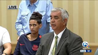 School shooting victim Anthony Borges, attorney hold news conference