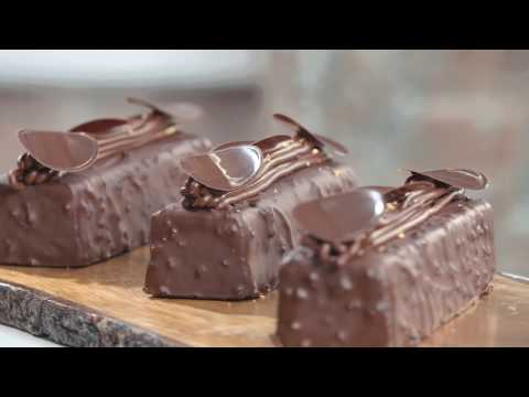"ValrhonaUSA Guest Chef Recipe: Nathaniel REID's ""Chocolate Financier"""