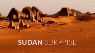 Sudan Surprise in 4k | Little Big World | Time Lapse & Tilt Shift & Aerial Travel Film