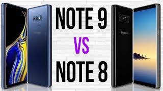 Note 9 vs Note 8 (Comparativo em 3 minutos)