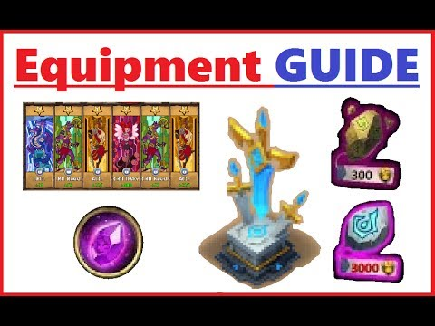HOW TO Use EQUIPMENT Fully Explained Castle Clash Guide