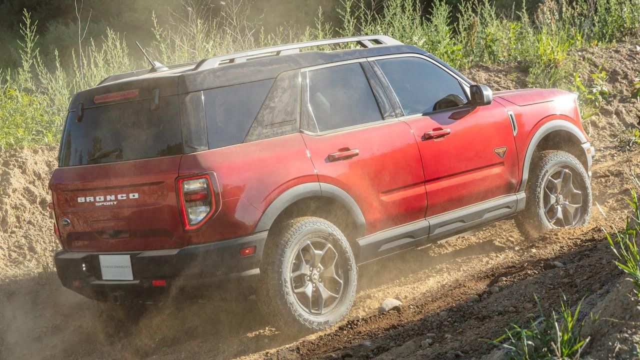 2021 Ford Bronco Sport: Reveal — Cars.com - YouTube