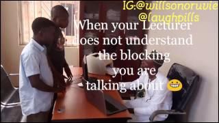 Blocking episode 1 (LaughPillsComedy)