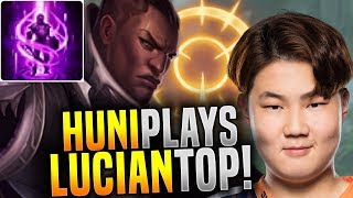 Huni Goes Crazy and Picks Lucian Top Again! - FOX Huni Plays Lucian Top! | Be Challenger
