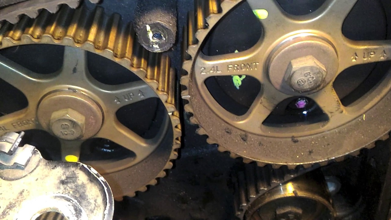 medium resolution of how to srt4 timing belt
