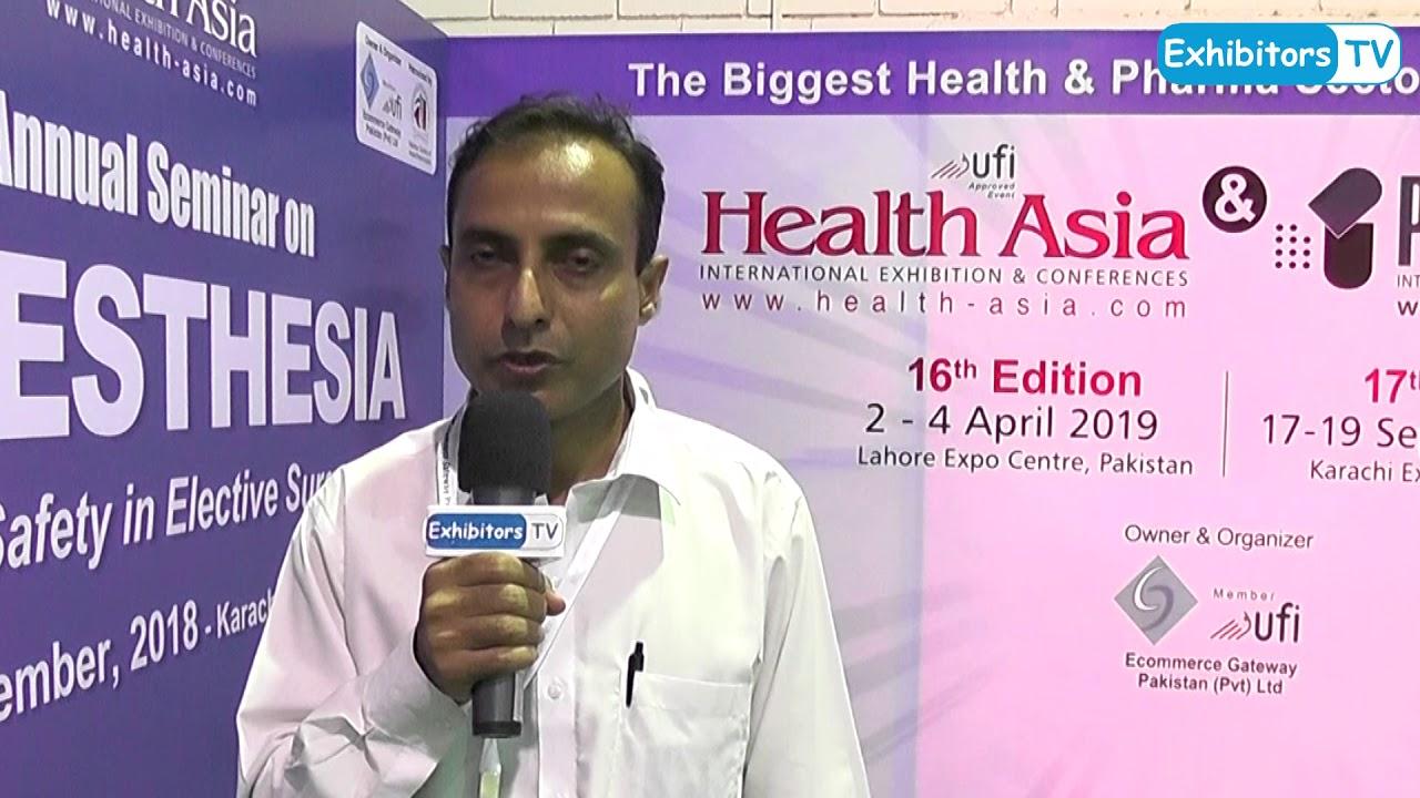 Dr Shoukat Memon Consultant Nephrology Indus Hospital at #HealthAsia 2018