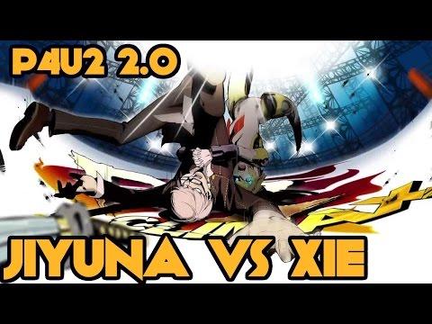 「P4U2 2.0」 - Jiyuna vs Xie FT3 (Arcade Footage w/ Analysis)