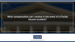 What compensation can I receive in the event of a Florida bicycle accident?