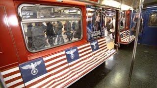 Uproar Over Amazon Using Nazi Symbols in Subway to Promote New Show