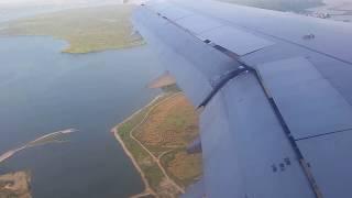 Landing at Changi Airport, Singapore