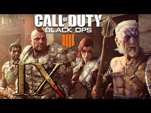 Call of Duty Black Ops 4 - GLADIATOR GAMEPLAY (XI Zombies Walkthrough)