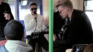 Repeat youtube video Kim Cesarion 'Undressed' Live on a Tram in Melbourne - TRAM JAM