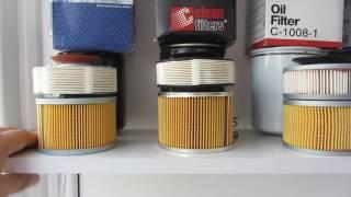Сравнение масляных фильтров Mahle OC 274, Clean Filters DF 827/A, Sakura C-10081, Kross KM0101998
