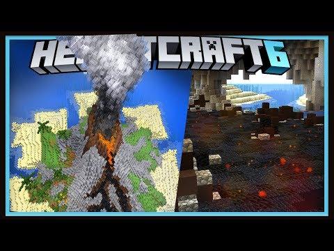 Hermitcraft Season 6 Starting The Volcano Storage Room