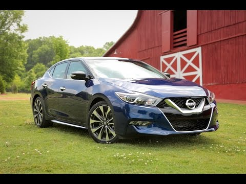 2016 Nissan Maxima Review – First Drive