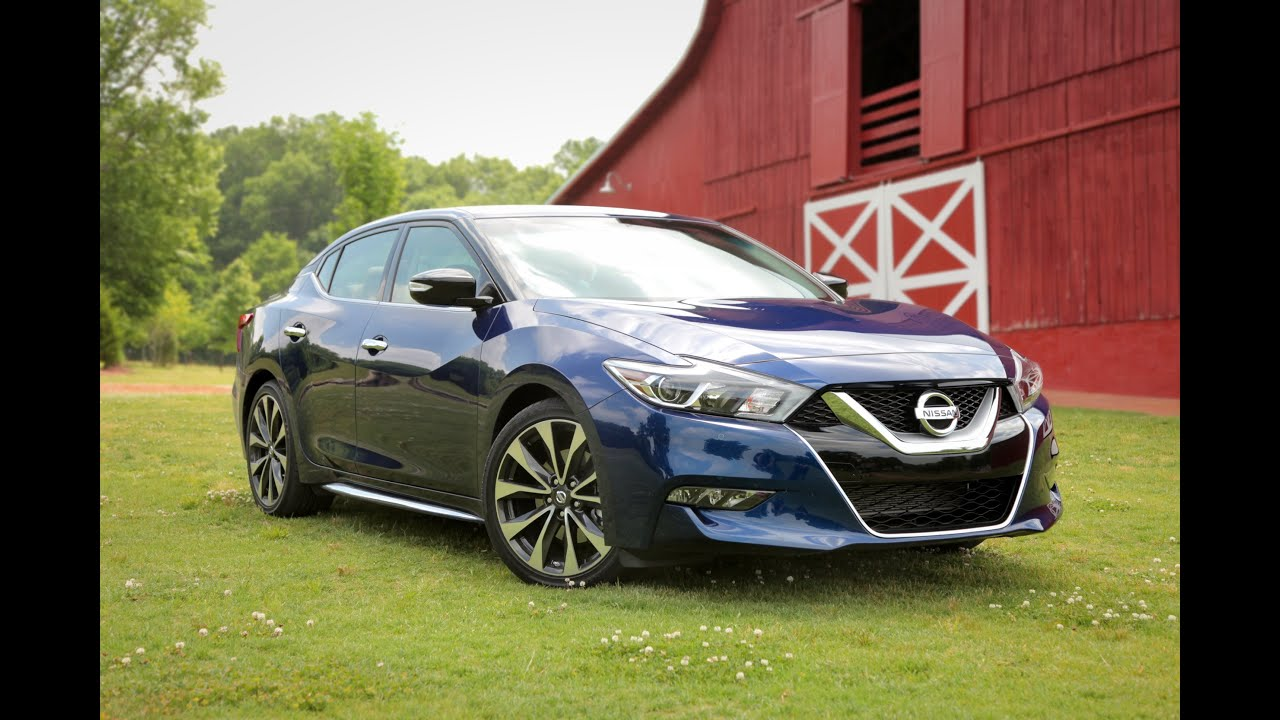 2015 Nissan Maxima >> 2016 Nissan Maxima Review - First Drive - YouTube