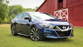 2016 Nissan Maxima Review - First Drive