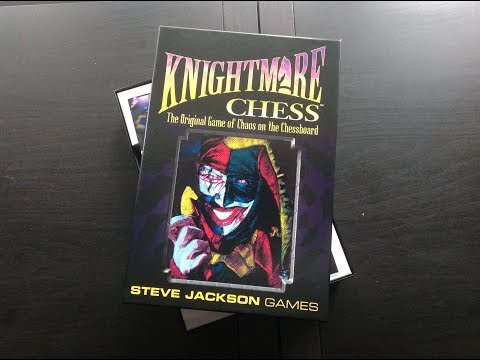 Unboxing for Knightmare Chess 3rd edition