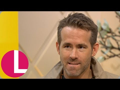 Ryan Reynolds Says He Was 'Born' to Play Deadpool | Lorraine