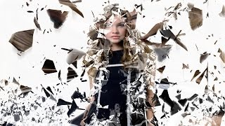 Photoshop Cs6/cc Broken Glass Dispersion Effect Photoshop Tutorial