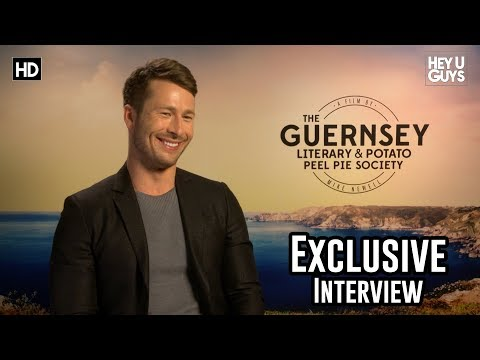 Glen Powell on finding hope with The Guernsey Literary and Potato Peel Pie Society