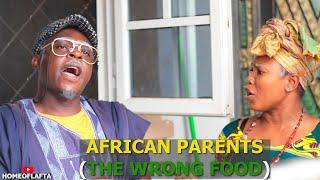 THE WRONG FOOD - Homeoflafta Comedy