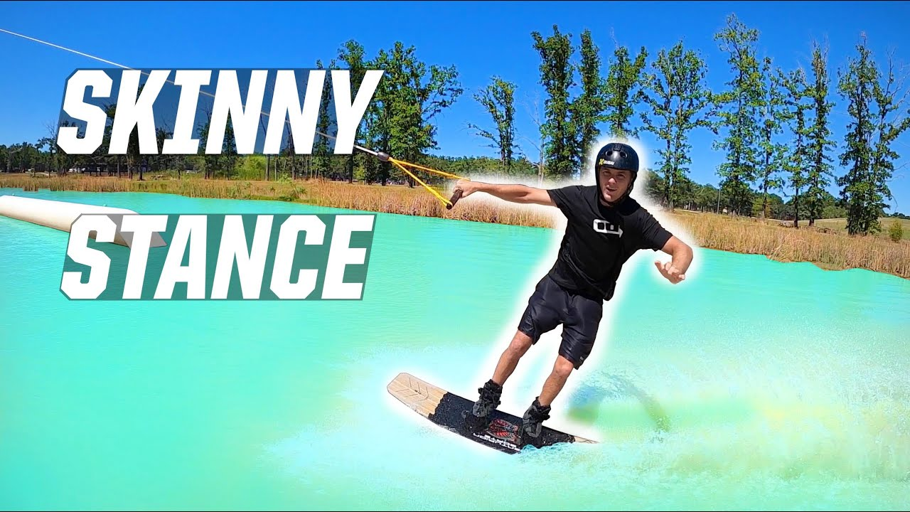 SKINNIEST STANCE EVER!! - WAKEBOARDING