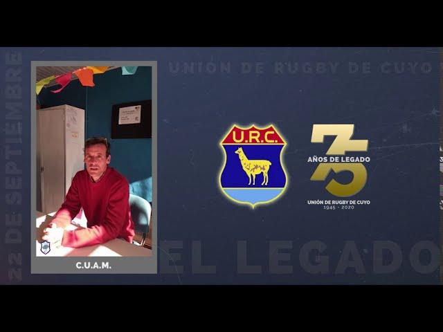 URC 75 AÑOS DE LEGADO - SALUDOS CUAM