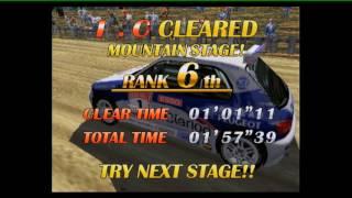 Sega Rally 2 Championship run: 3