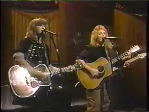 indigo girls: 1991-01-12 watershed - the tonight show