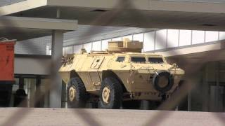 Tanks in St. Louis, MO!!  Italian military corporation has APC