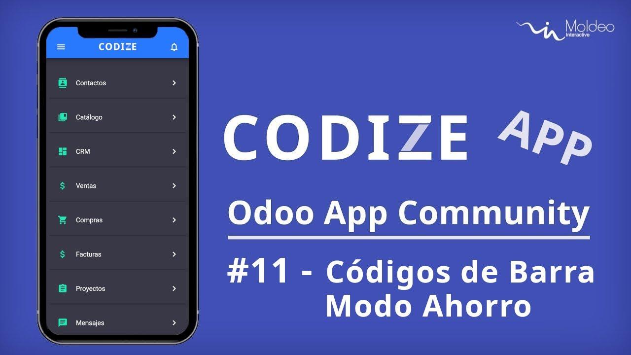 Codize App - Códigos de Barras, Modo Ahorro