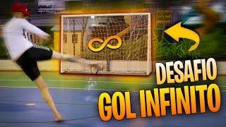 DESAFIO DO GOL INFINITO (NAO PODE PARAR DE FAZER GOL!!!) - DESAFIOS DE FUTEBOL