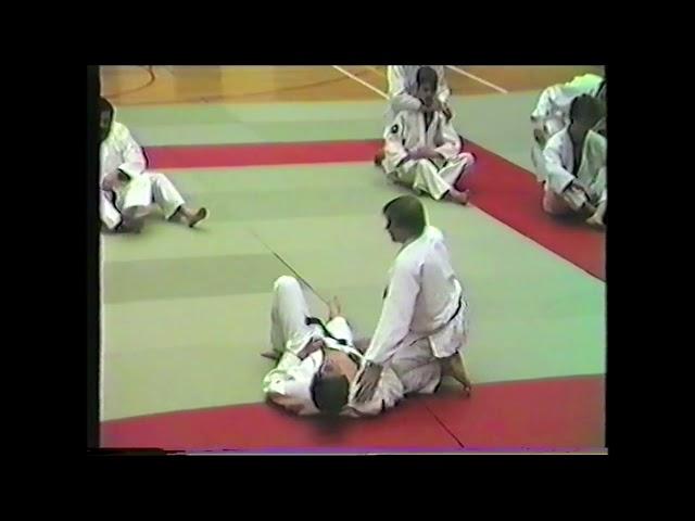 JUDO Sensei De Maerteleire Merelbeke invited on Int  Fest  Martial Arts by Sifu W  Toch 1986
