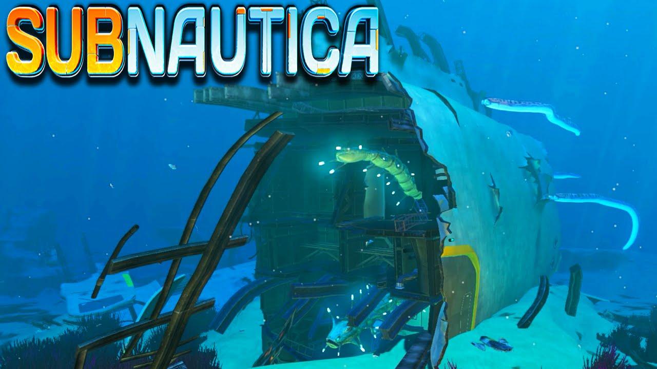 Subnautica - Epic Ship Wreckage Exploration - Subnautica ...