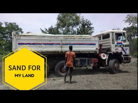 SAND FOR MY LAND! FENCE BUILDING IN THE GAMBIA.  #Land #Repat #African #THC #TheGambia #Hijrah