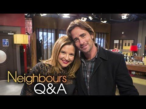 Neighbours Q&A: Kip Gamblin Brad & Rebekah Elmaloglou Terese Part 1