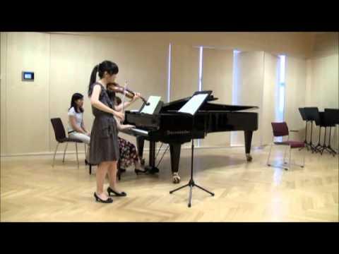 Beethoven Violin Sonate No7 c-moll Op.30 No.2 1st Movement Allegro con brio
