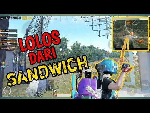 BERTAHAN DARI SANDWICH | PUBG MOBILE INDONESIA