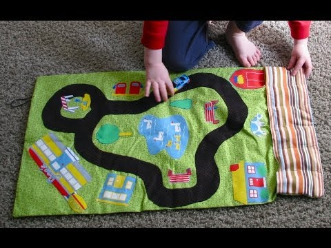 On The Go Car Roll Car Mat Tutorial Youtube