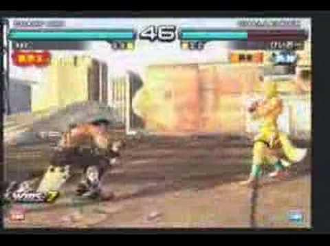Tekken 5 DR Qudans(Devil Jin) Vs Keiou(Steve)