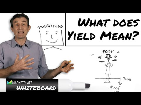 What does yield mean?