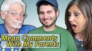 Download Reading Mean Comments with my Parents Mp3 and Videos