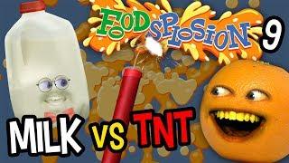 Annoying Orange - Foodsplosion: Milk vs TNT!