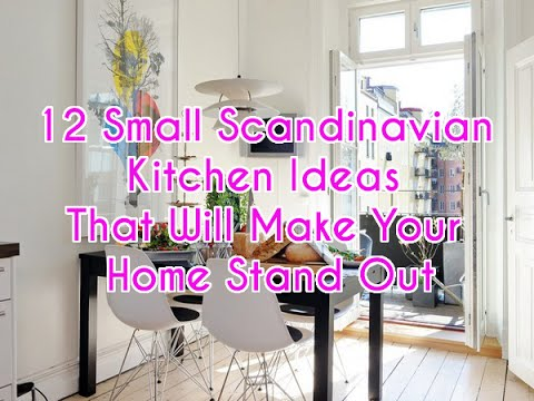 12 Small Scandinavian Kitchen Ideas That Will Make Your Home Stand ...