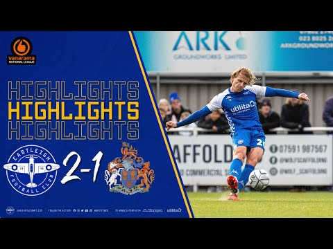 Eastleigh Altrincham Goals And Highlights
