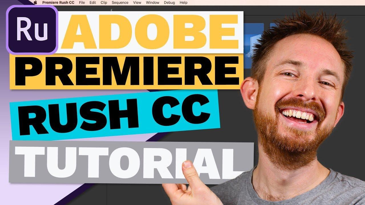 Adobe Premiere Rush CC Tutorial