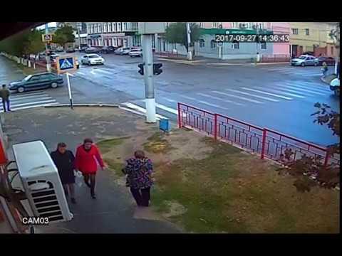 Авария перекресток Дружба 27.09.2017 Камышин