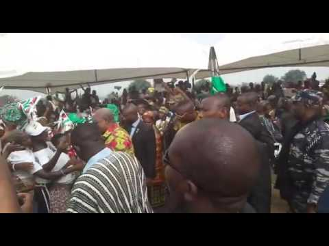 Tears flow for Mahama at Somanya