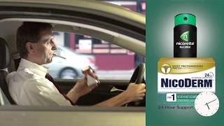 Quit Smoking with NICORETTE® and NICODERM® Combination Therapy
